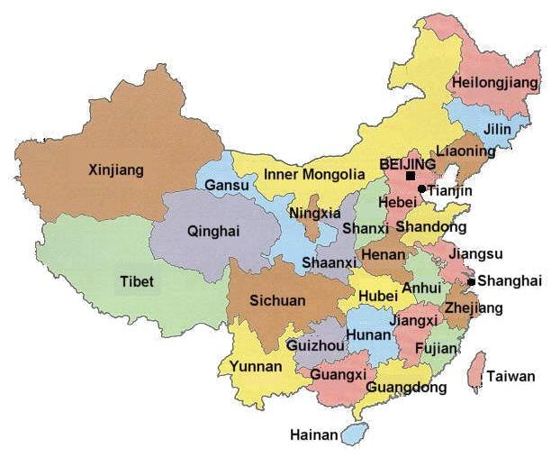 china-province-map